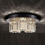 Shari – funklende krystalloftlampe med LED'er