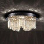 3-trins dæmpbar LED krystalloftlampe Shari