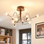 Romantisk LED-loftlampe Hannes