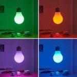 Lindby Smart RGB-LED-pendellampe Mena