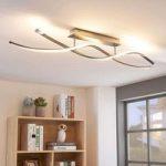 Spiralformet LED loftlampe Kati, dæmpbar