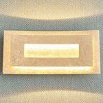 Fortryllende LED væglampe Lolina, guldfarver
