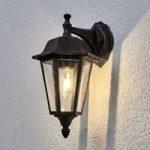 Lamina – udendørsvæglampe i rustoptik