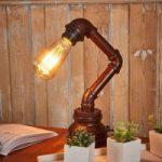 Usædvanlig bordlampe Tap
