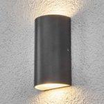 LED-udendørs væglampen Weerd