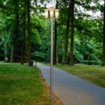 Moderne lygtepæl Filko, tre lyskilder