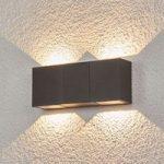 Jani LED-udendørsvæglampe med 4 lyskilder