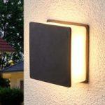 Isida indirekte lysende LED-væglampe,udendørs brug
