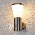 Sumea udendørsvæglampe med LED og bevægelsessensor