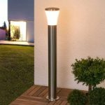 Sumea LED-vejlampe i rustfrit stål