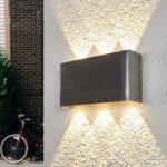 LED væglampe Samanta med effektivt lys