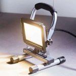 LED-arbejdsspotlight Luxo IP65 10 W 800 lm