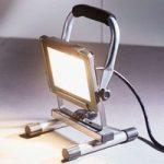 LED-arbejdsspotlight Luxo IP65 20 W 1600lm