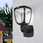 LED solcellelampe Henk med sensor
