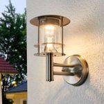 Solcelle udendørs lampe Sumaya, LED, rustfrit stål