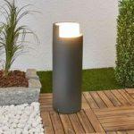 Arne – LED sokkellampe i mørkegrå