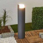 LED gadelampe Arne i rund form