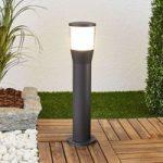 Melania – LED sokkellampe i aluminium