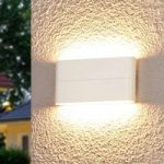 Attraktiv LED-væglampe Piala til udendørs brug
