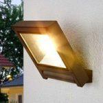 Mørkegrå LED-projektør Marico til udendørs brug