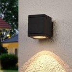 LED-væglampen Nuria til udendørs brug, 1 lyskilde