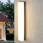 Lysstærk LED-udendørsvæglampe Cahita