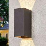 Mikka – LED-udendørsvæglampe med 2 lyskilder