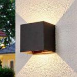 Evie – udendørsvæglampe med LED'er