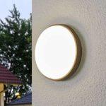 Amra – LED udendørs loftlampe i rund form