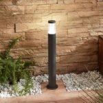 LED-gadelampe Amily, mørkegrå, 70 cm