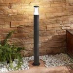 LED-gadelampe Amily, mørkegrå, 90 cm