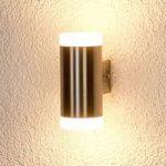 Cylindrisk LED-udendørsvæglampe Gabriel