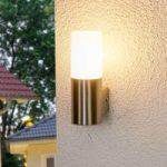 Milena – LED-udendørslampe af rustfrit stål