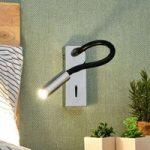 LED væglampe Bernardo med fleksarm
