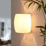 Glasvæglampe Lusine