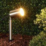Eske – GU10-jordspydslampe af rustfrit stål
