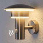 Lillie – PIR-udendørsvæglampe med LED