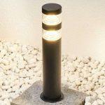 Sokkellampen Lanea med LED´er – varmhvid