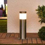 Selina – LED-jordspydlampe i rustfrit stål