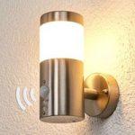 Belina LED-udendørsvæglampe med bevægelsessensor