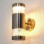 Lanea LED-udendørsvæglampe med 2 lyskilder