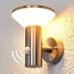 Tiga væglampe til udendørs brug med sensor, LED
