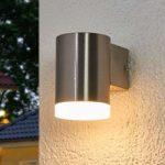 Nedadrettet LED-udendørsvæglampen Eliano