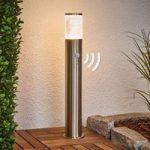 Sokkellampe Belen med LED og bevægelsessensor