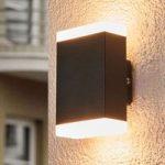 Tidløs LED-væglampe Aya til udendørs – IP44