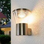 Moderne LED udendørs væglampe Kiki i rustfrit stål