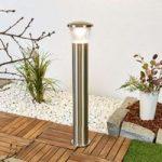 Kiki – LED gadelampe i rustfrit stål