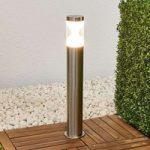 Fabrizio – LED gadelampe i rustfrit stål