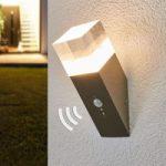 Væglampe Nerius til udendørs bevægelsessensor, LED