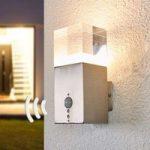 Nerius – LED udendørs væglampe med sensor